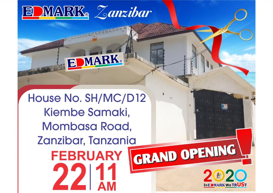 22 February 2020 – Edmark Zanzibar Grand Opening