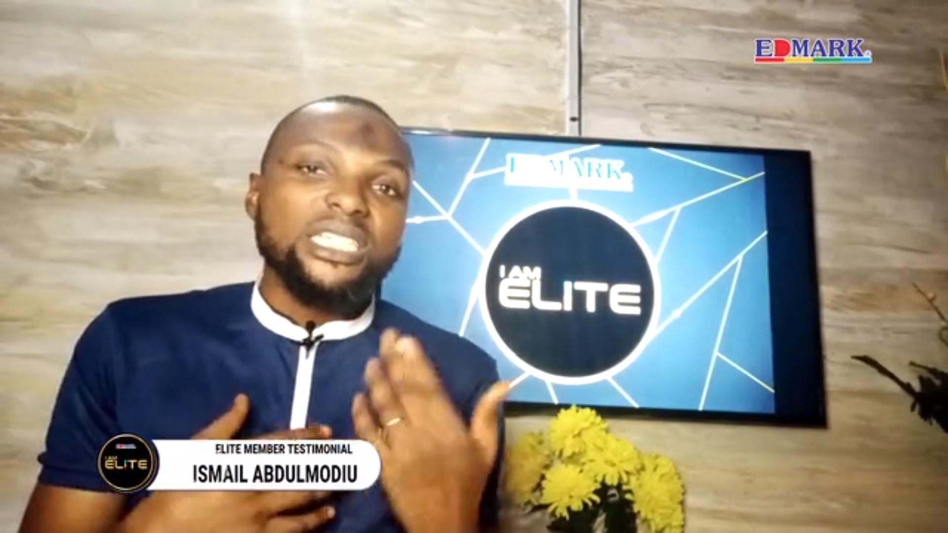 Elite Testimonial – CM Ismail Abdulmodiu
