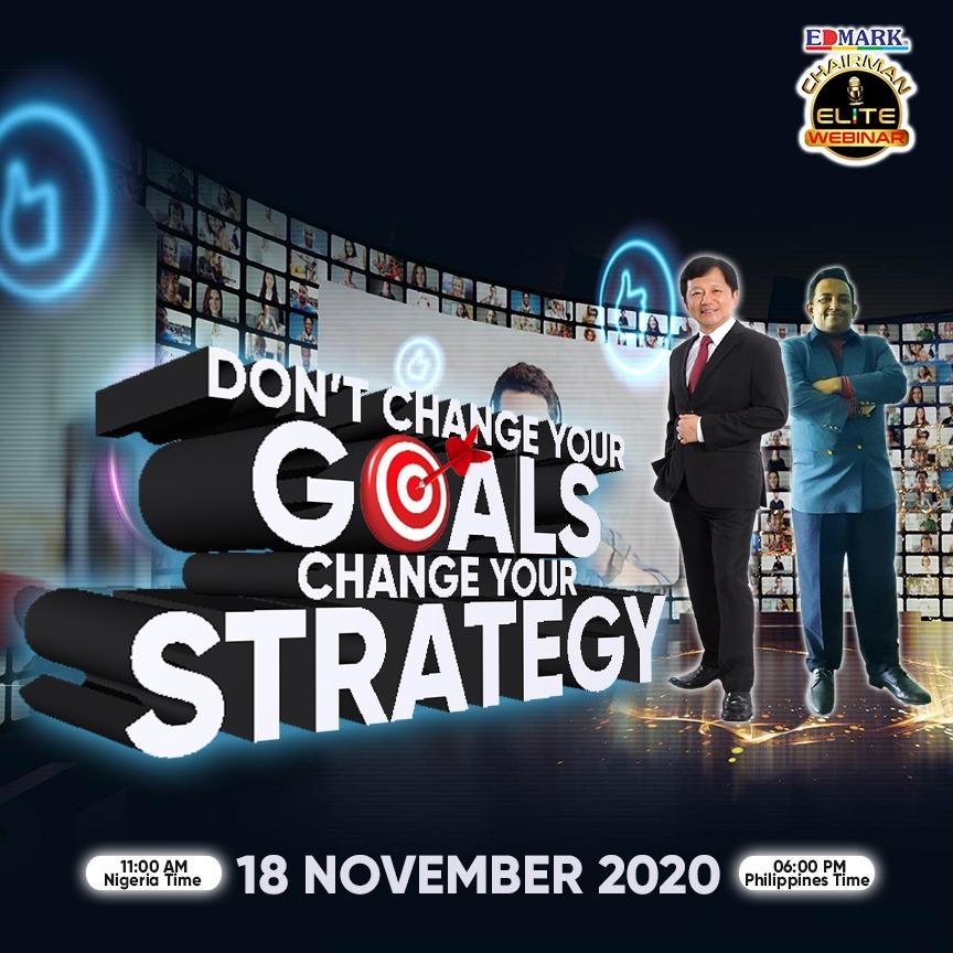 Chairman Elite Webinar – November 2020