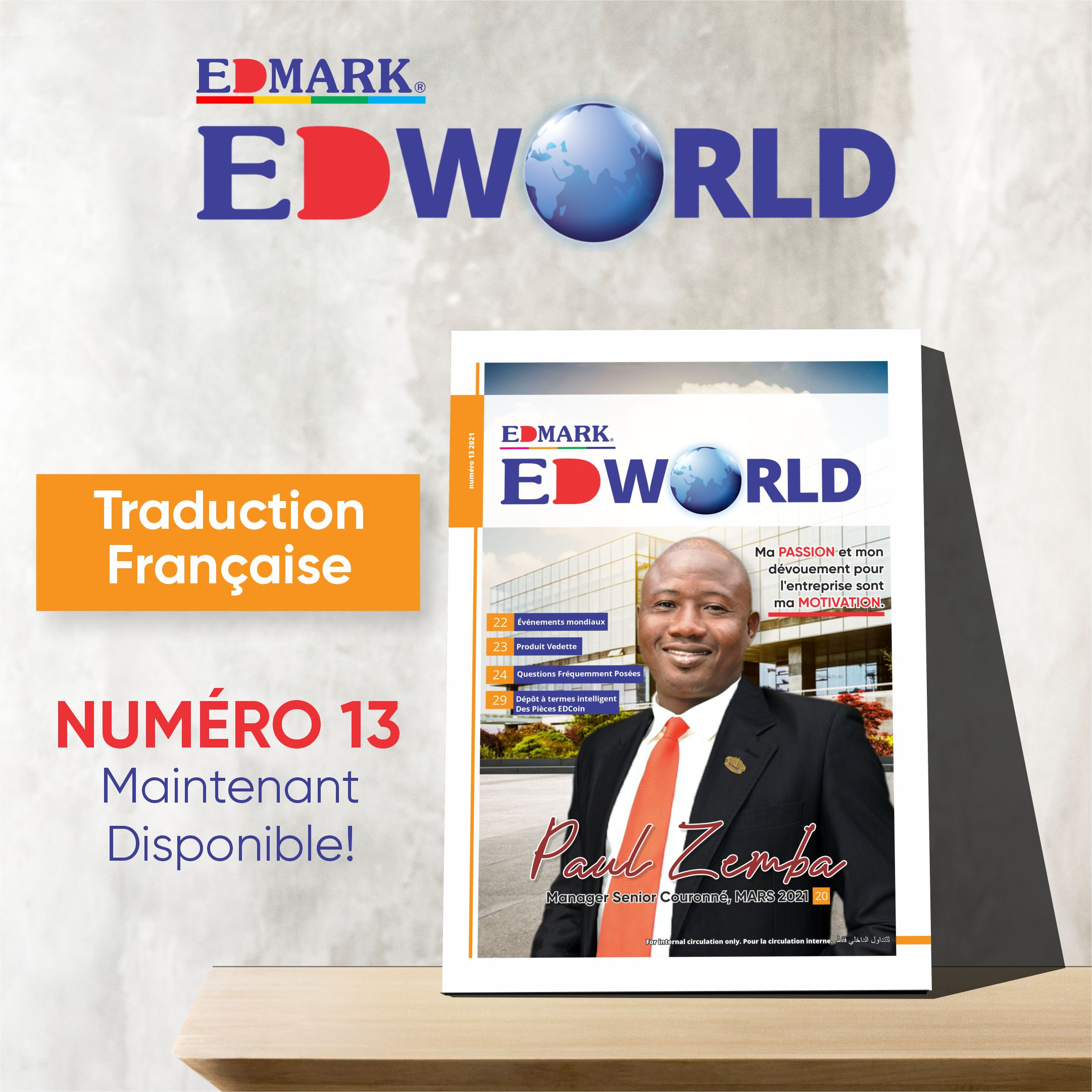 EDWORLD Issue 13 – French